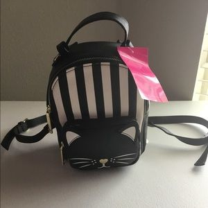 Betsey Johnson miniature cat backpack